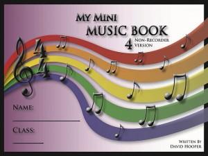 My Mini Music Book 4 Non-Recorder Title Page 65kb