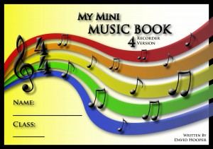 My Mini Music Book 4 Recorder Version Title Page
