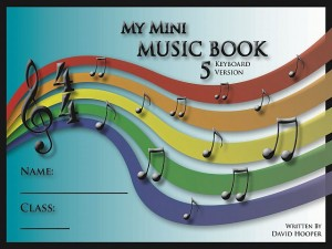 My Mini Music Book 5 Keyboard Version Title Page 65kb