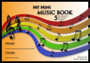 My Mini Music Book 5 Recorder and Keyboard Version Title Page