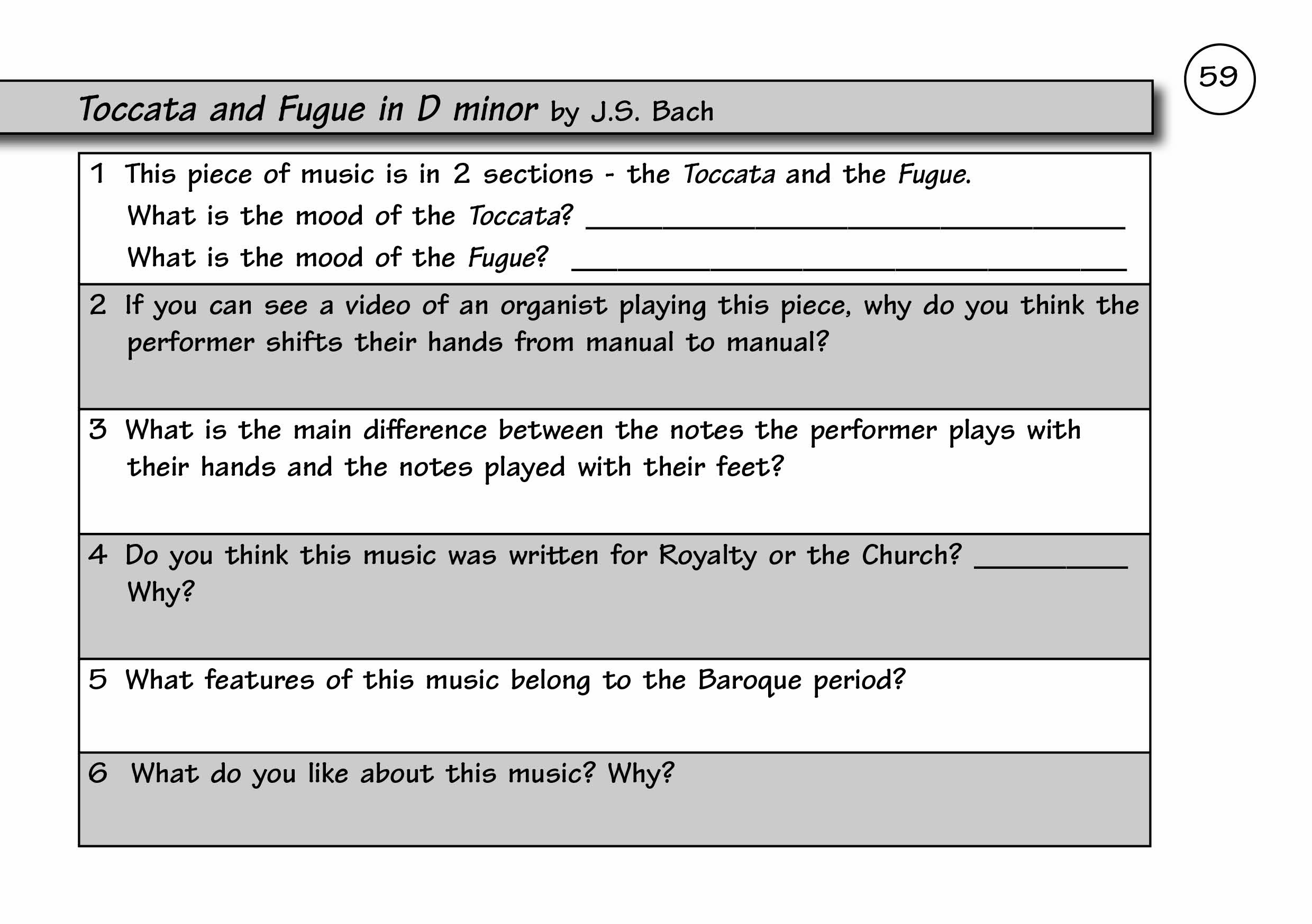 Sample Pages – My Mini Music Books